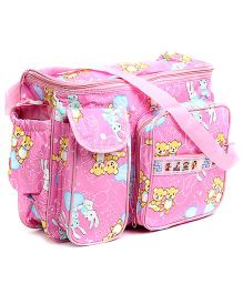 Duck Mother Bag Cutie Print Big - Pink
