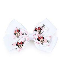 Disney Hair Clip - White