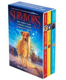 Harper Collins Survivors Box Set Volumes 1 To 3