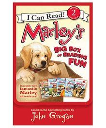 Harper Collins Marleys Big Box of Reading Fun - Set of 5