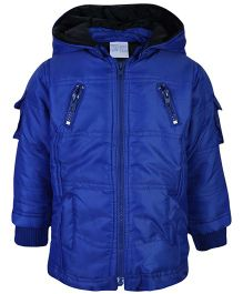 FS Mini Klub Hooded Jacket - Midnight Navy Blue