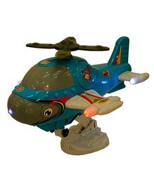 Adraxx Musical Helicopter With Flying Motion And Lights