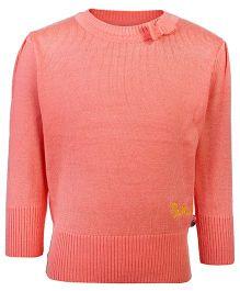 FS Mini Klub Full Sleeves Sweater - Mini Klub Embroidery