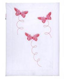 Taftan Small Quilt Butterfly Pink