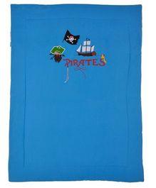 Taftan Small Quilt Pirate Sky Blue