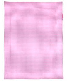 Taftan Small Quilt Checks Pink