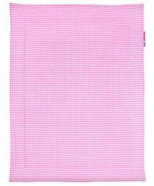 Taftan Small Quilt Checks Pink
