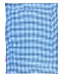 Taftan Small Quilt Checks Blue
