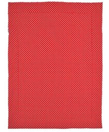 Taftan Small Quilt Polka Dots Red