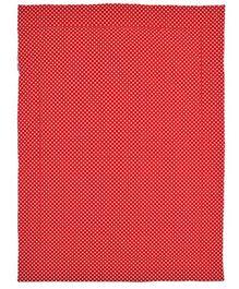 Taftan Small Quilt Polka Dots Red