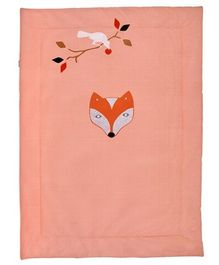Taftan Small Quilt Fox and Raven