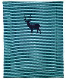 Taftan Small Quilt Deer Blue