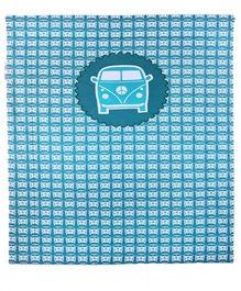 Taftan Small Quilt Car Grey Blue