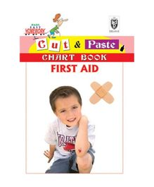 Indian Book Depot map house Cut And Paste Chart Book of First Aid - English