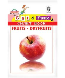 Indian Book Depot map house Cut And Paste Chart Book Fruits Dryfruits - English