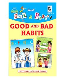 Indian Book Depot map house Cut And Paste Chart Book Good And Bad Habits - English