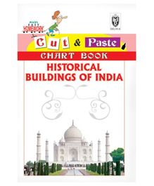 Indian Book Depot map house Cut And Paste Chart Book Historical Buildings of India - English