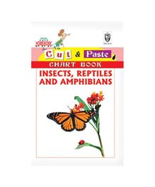 Indian Book Depot map house Cut And Paste Chart Book Insects Reptiles And Amphibians - English
