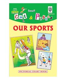 India Book Depot map house Cut And Paste Chart Book Sports - English