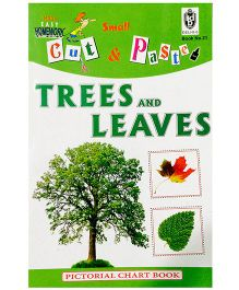 Indian Book Depot map house Cut And Paste Chart Book Trees And Leaves - English