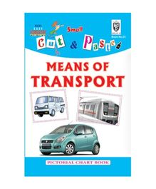 Indian Book Depot map house Cut And Paste Book Means of Transport - English