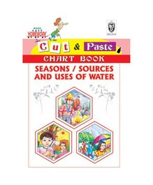 Indian Book Depot map house Cut And Paste Chart Book Seasons And Uses of Water - English