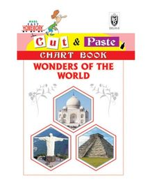 Indian Book Depot map house Cut And Paste Chart Book Wonders of The World - English