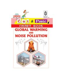 Indian Book Depot map house Cut And Paste Chart Book Global Warming And Noise Pollution - English