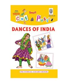 Indian Book Depot map house Cut And Paste Book Dance of India - English