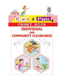 India Book Depot map house Cut And Paste Chart Book Individuals And Community Cleanliness - English