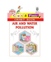 Indian Book Depot map house Cut And Paste Chart Book Air And Water Pollution - English