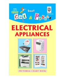 Indian Book Depot map house Cut And Paste Chart Book Electric Appliances - English