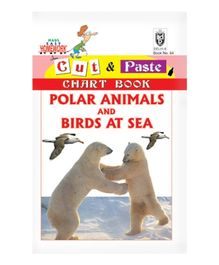 Indian Book Depot map house Cut And Paste Chart Book Polar Animals Ans Birds At Sea - English