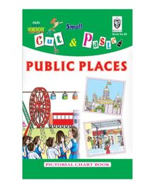 Indian Book Depot map house Cut And Paste Book Public Places - English