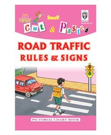 Indian Book Depot map house Cut And Paste Book of Road Traffic Rules And Signs - English