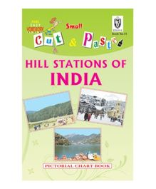Indian Book Depot map house Cut And Paste Book Hill Stations of India - English