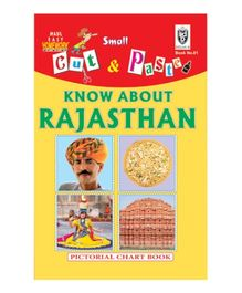 Indian Book Depot map house Cut And Paste Book Know About Rajasthan - English