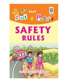 Indian Book Depot map house Cut And Paste Book Safety Rules - English