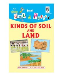 Indian Book Depot map house Cut And Paste Book Kinds of Soil And Land - English