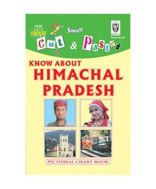 Indian Book Depot map house Cut And Paste Book Know About Himachal Pradesh - English