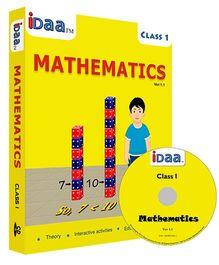 iDaa CD CBSE Mathematics Class 1 - English