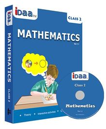 iDaa CD CBSE Mathematics Class 2 - English