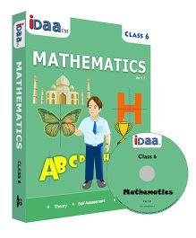 iDaa CD CBSE Mathematics Class 6 - English