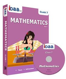 iDaa CD CBSE Mathematics Class 7 - English