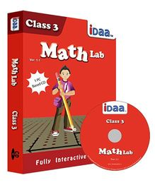 iDaa CD CBSE  Math Activity Class 3 - English