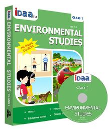 iDaa CD CBSE Environmental Studies Class 1 - English