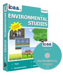 iDaa CD CBSE Environmental Studies Class 2 - English