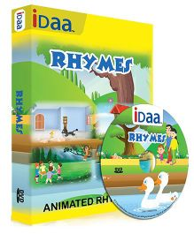 iDaa CD Animated Rhymes - English