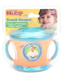 Nuby Snack Keeper Orange - 240 ml