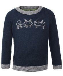 FS Mini Klub Full Sleeves Sweater - Navy Blue